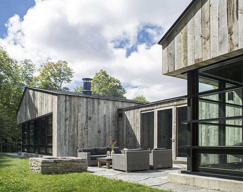 Woodshed Vermont Guest House Birdseye Design 2