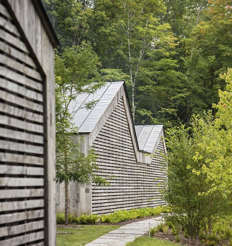 Woodshed Vermont Guest House Birdseye Design 11