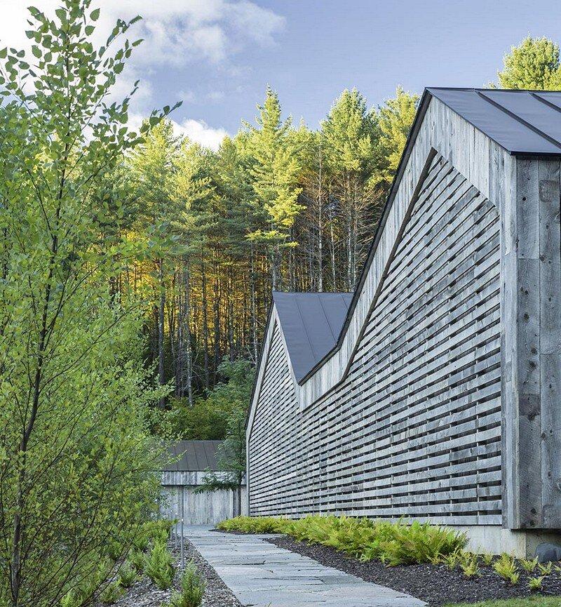Woodshed Vermont Guest House Birdseye Design 13