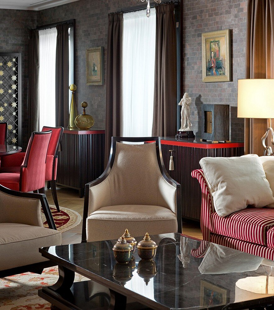 American Style Luxury Apartment Inspired By 30s / Alexandr