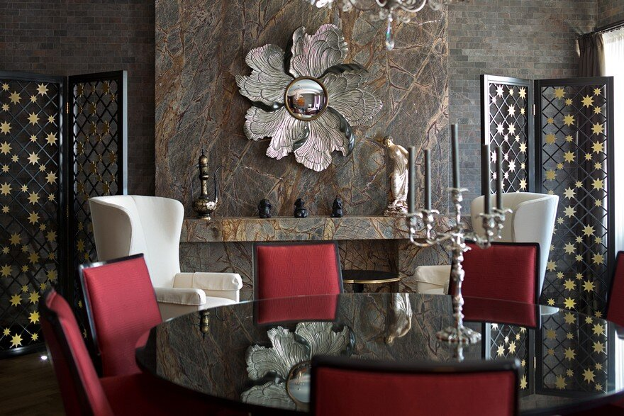 American Style Luxury Apartment Inspired by 30s / Alexandr Shepel Architecture and Design