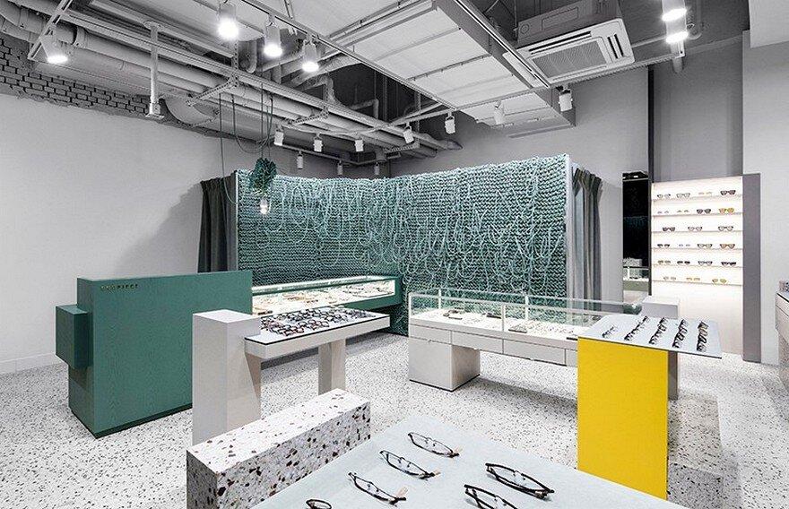 Endpiece – Optical Store in Seoul / wallga + WGNB