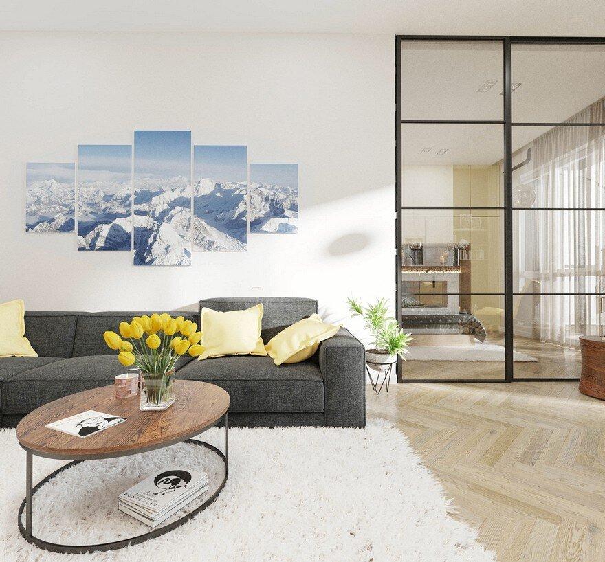 Great Britain Apartment / Leopolis Architecture Group