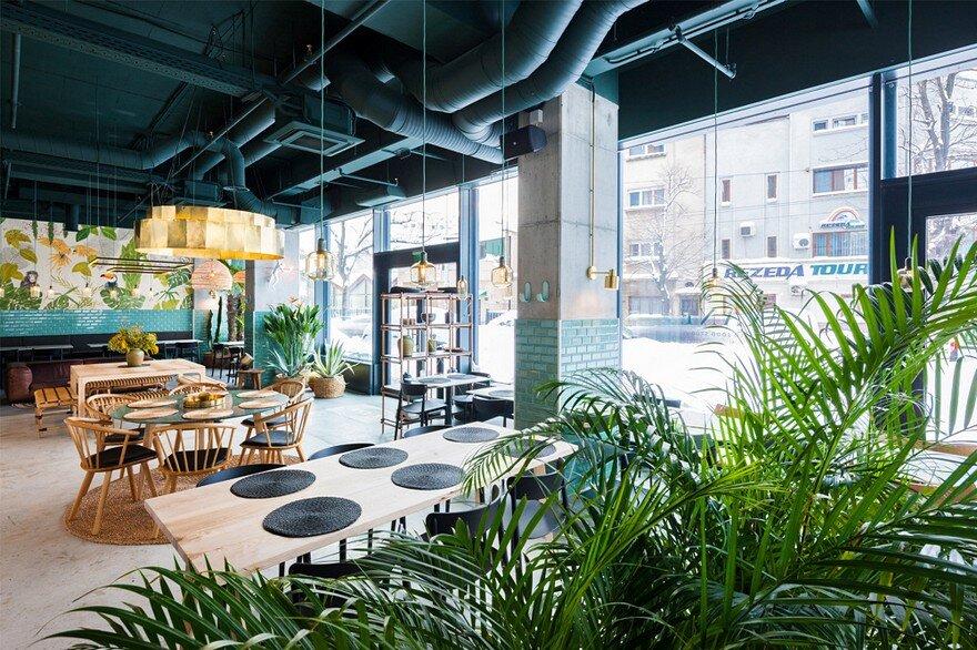 Kane World Food Studio / Architect Bogdan Ciocodeica