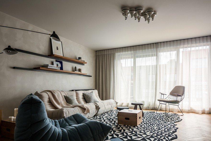New Vintaged Knokke Apartment Bcint Design Studio
