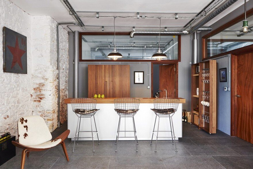 Retro Industrial Holiday Home / Jam Interiors Group and Sapphire Spaces
