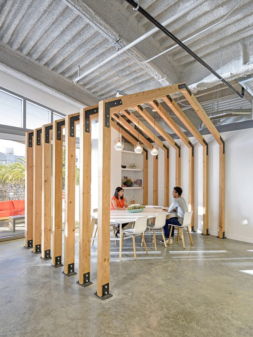 Sunset magazine offices rmw architecture interiors for Sunset magazine house plans