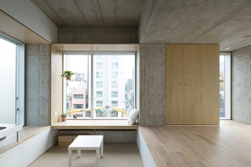 Tatsumi Apartment / Hiroyuki Ito Architects