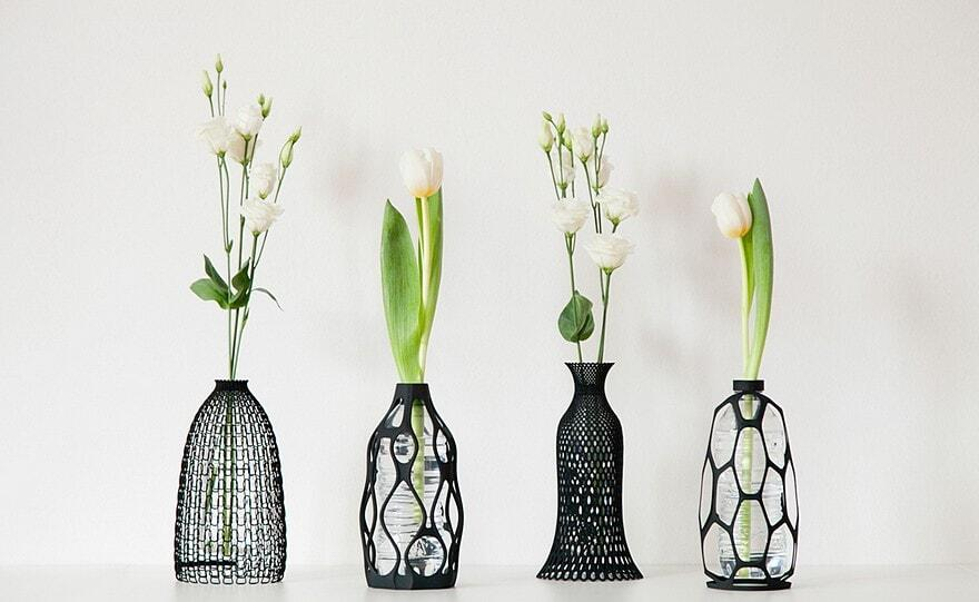 3D Printed Vases Collection / Libero Rutilo