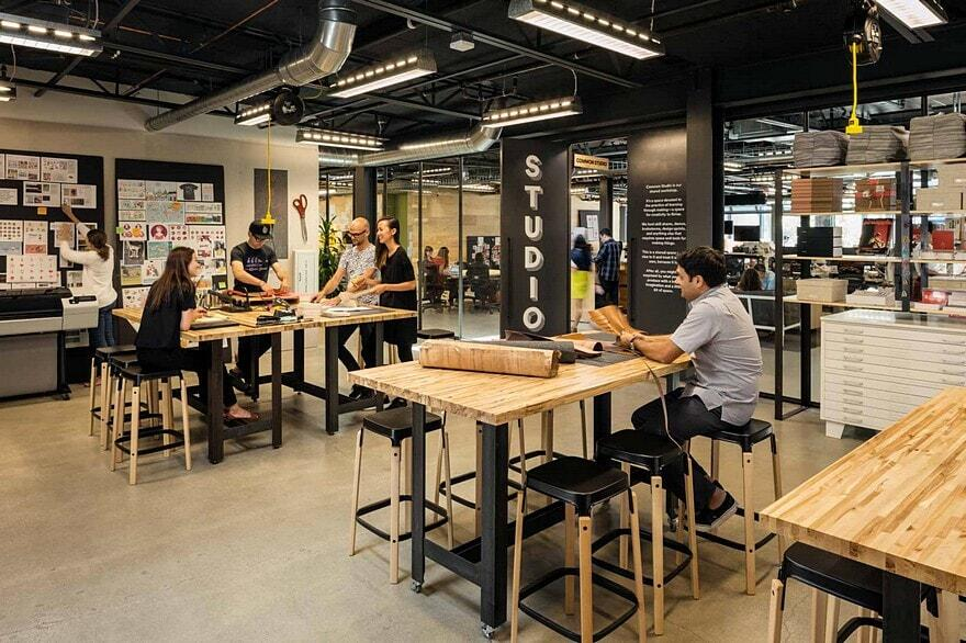 Airbnb headquarters in san francisco wrns studio for Apartment makerspace