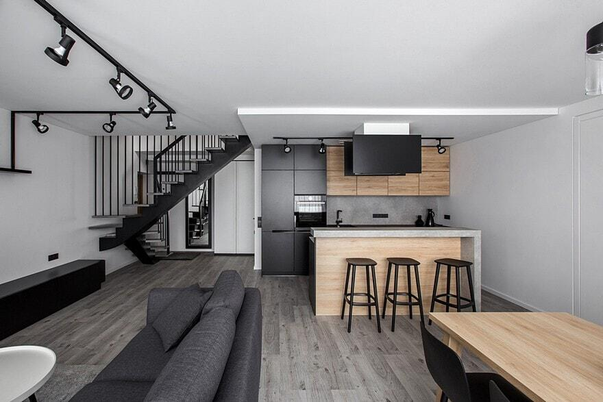 Burbiskiu Apartment, Vilnius / Rimartus Design Studio