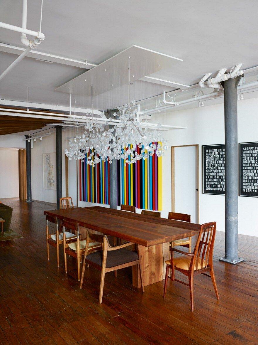 Chelsea Loft Apartment Omas Works And Jarlath Mellette