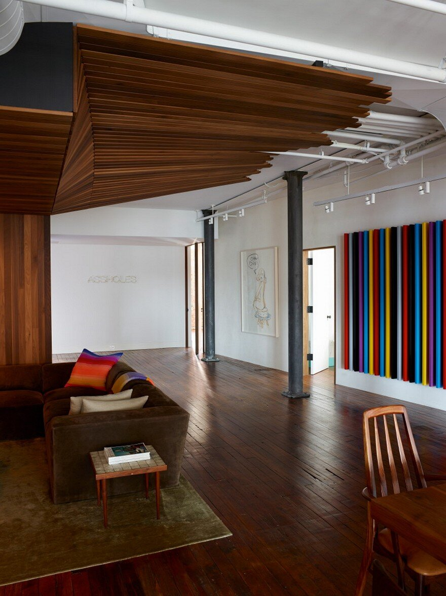 Chelsea Loft Apartment Omas Works And Jarlath Mellette
