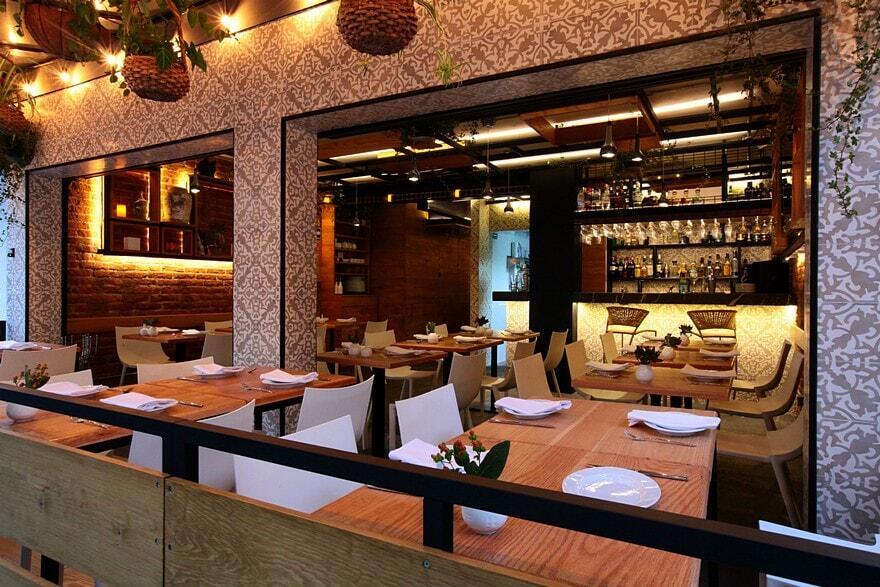 Newton 105 Restaurant / Código Z Arquitectos