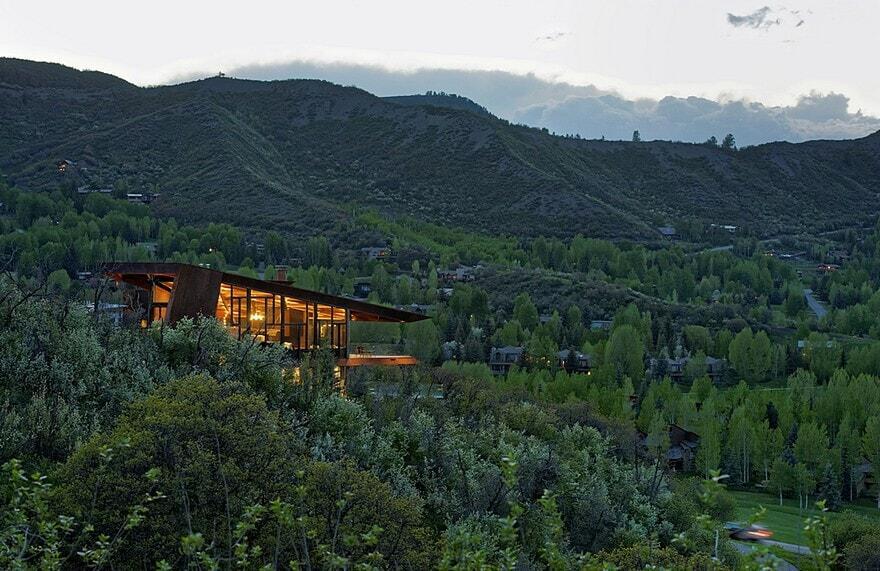 Owl creek residence skylab architecture for Owl creek