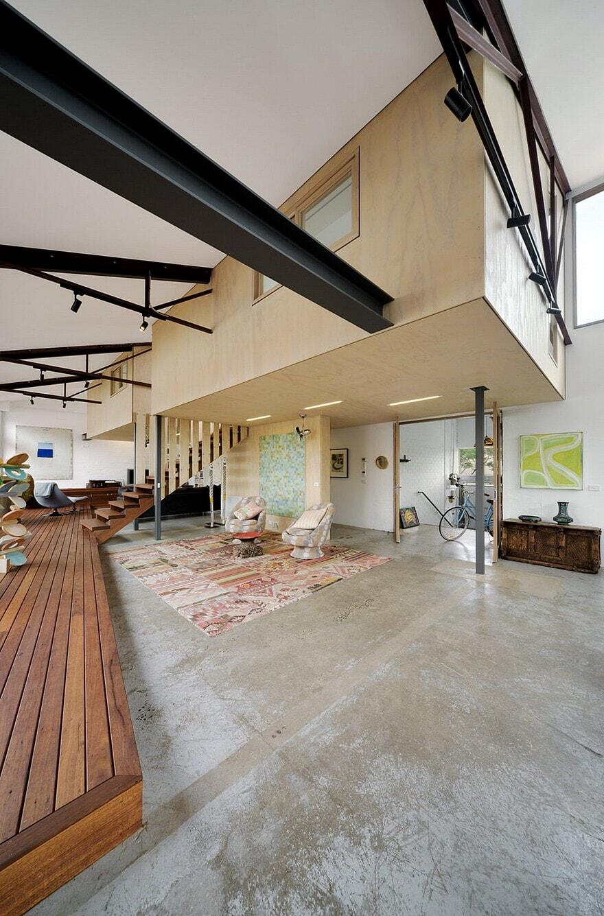 Up Cycled Warehouse Zen Architects