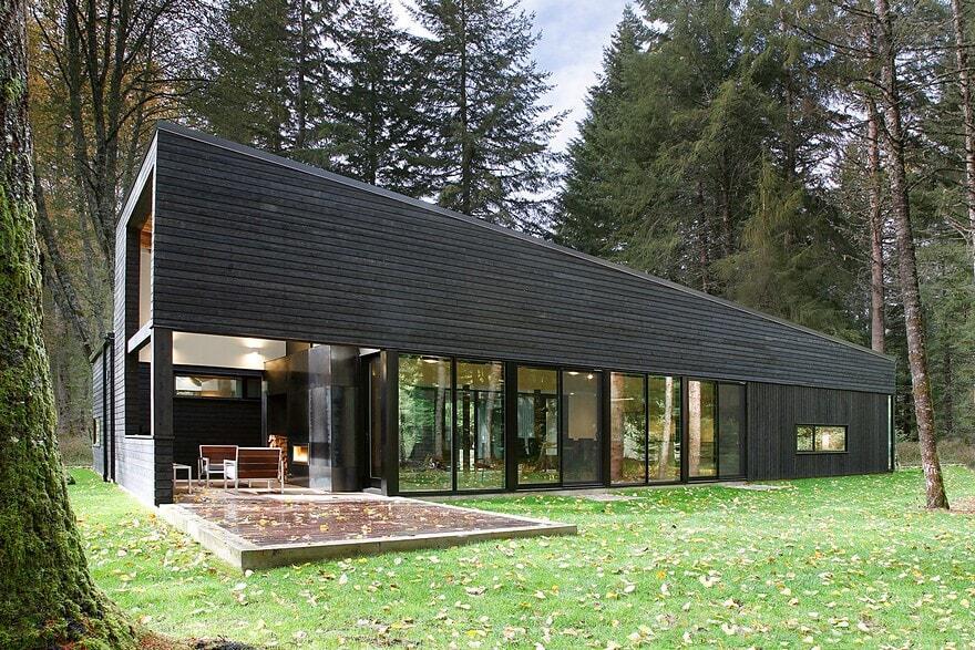 White River House Robert Hutchison Architect