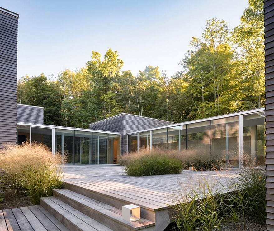 Artist Retreat in Upstate New York / GLUCK+