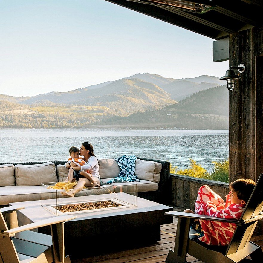 Chelan Lake House Hoedemaker Pfeiffer