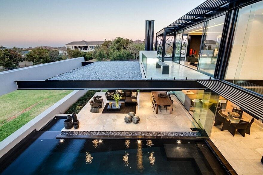 Contemporary Glass House / House Ber by Nico Van Der Meulen Architects