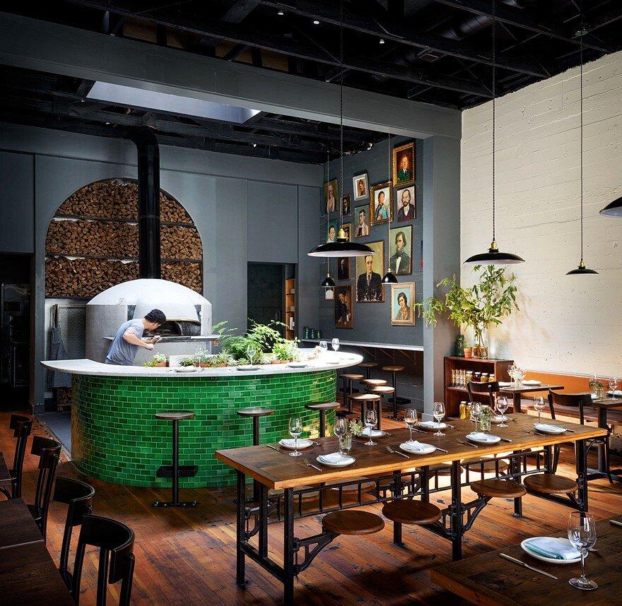 Del Popolo Restaurant Jessica Helgerson Interior Design