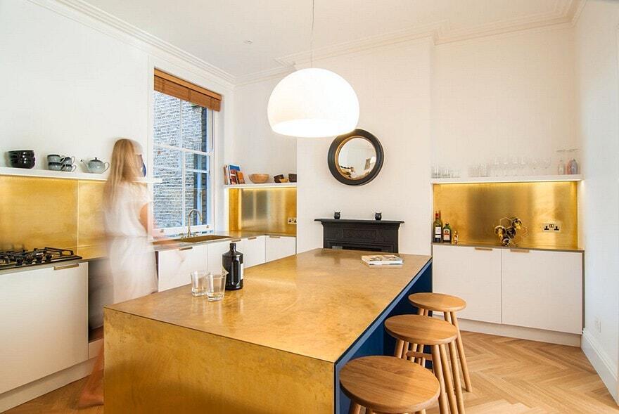 hampstead apartment bradley van der straeten architects. Black Bedroom Furniture Sets. Home Design Ideas