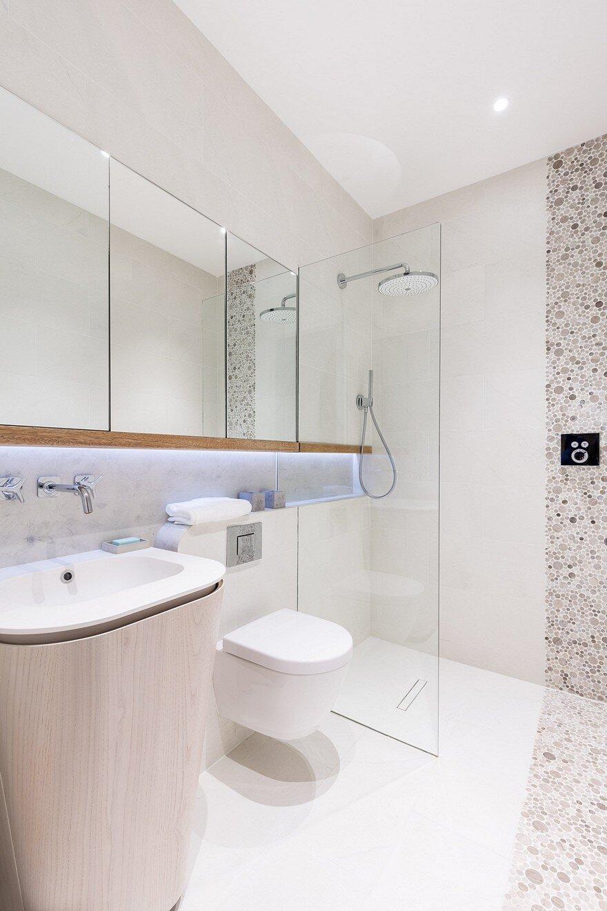Modern new home in hampstead black milk - Posizione sanitari bagno ...