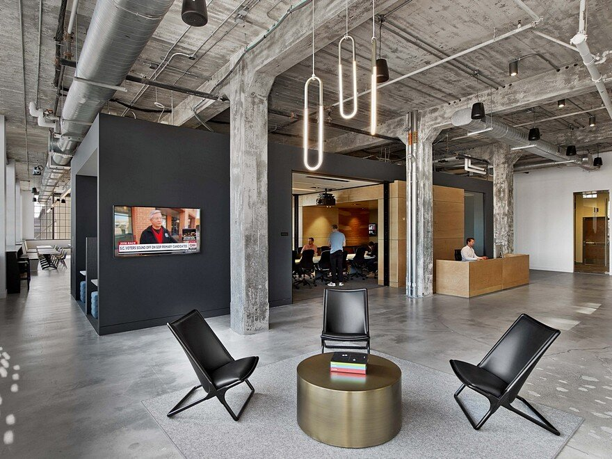 Mullenlowe ad agency offices in winston salem tpg for Ad agency office design