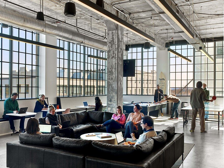 Mullenlowe ad agency offices in winston salem tpg for Ad architects