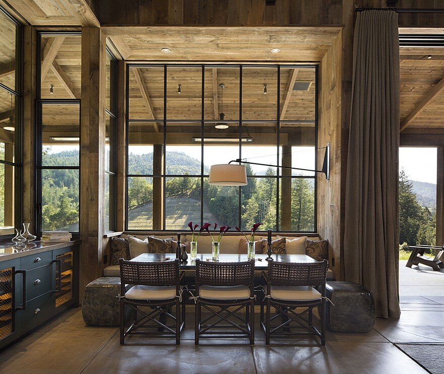 napa cabin    farmhouse style cabin by wade design architects