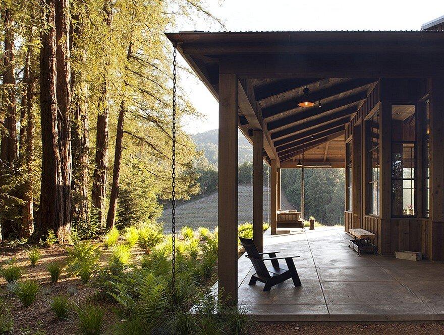 Napa Cabin / Farmhouse Style Cabin by Wade Design Architects