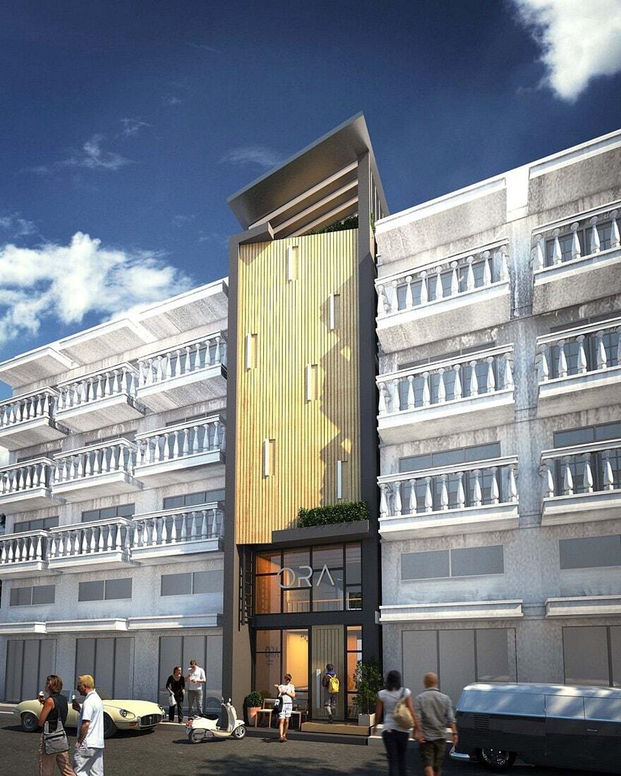 Ora hostel in bangkok sea architecture for Bangkok architecture