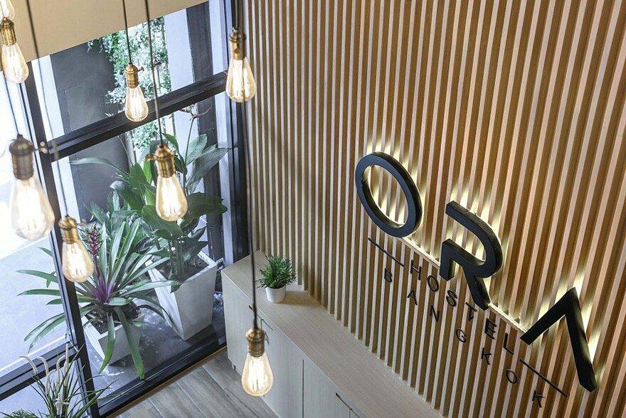 Ora Hostel In Bangkok Sea Architecture
