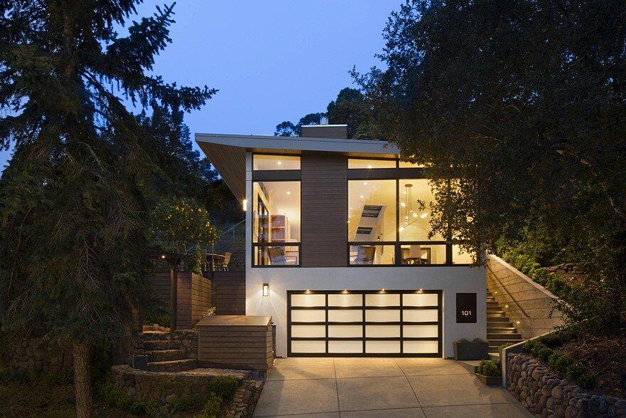 Pole Residence In Larkspur California John Lum Architecture