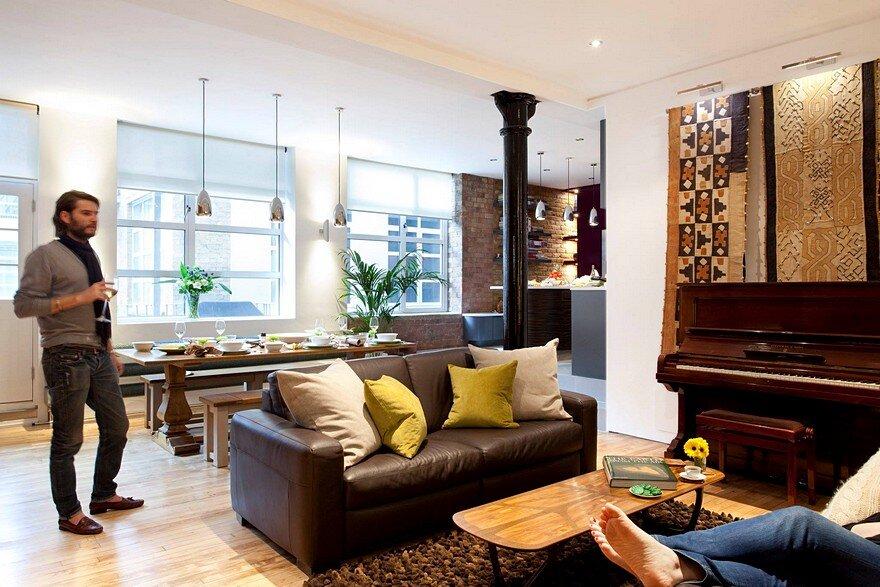 Shoreditch London Loft / Phillips Design Studio