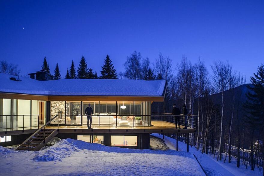 Trefoil House, Vermont / J.Roc Design