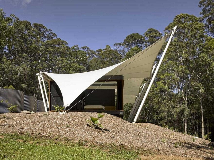 Verrierdale Tent House Sparks Architects