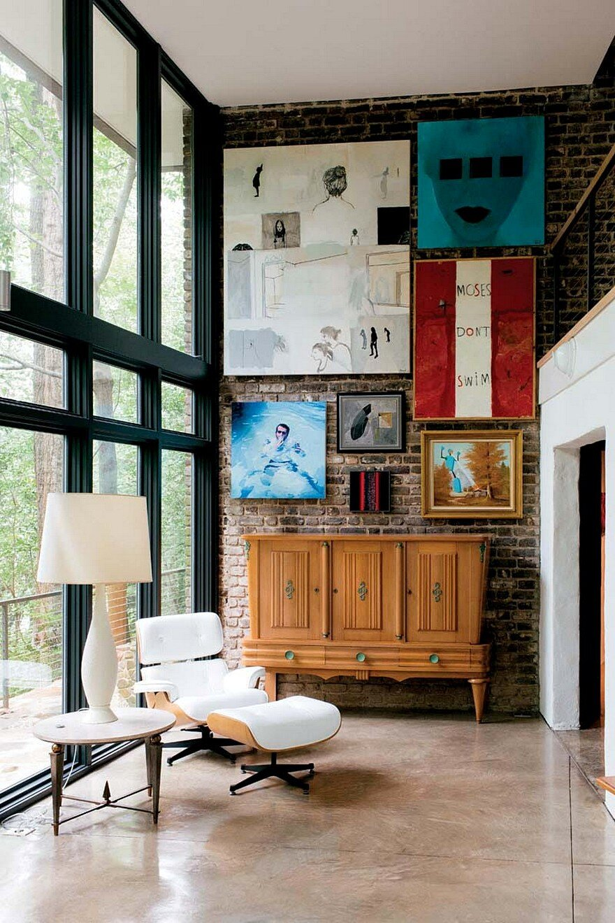 1963 Mountain Brook House in Alabama Gets a Contemporary Update 4