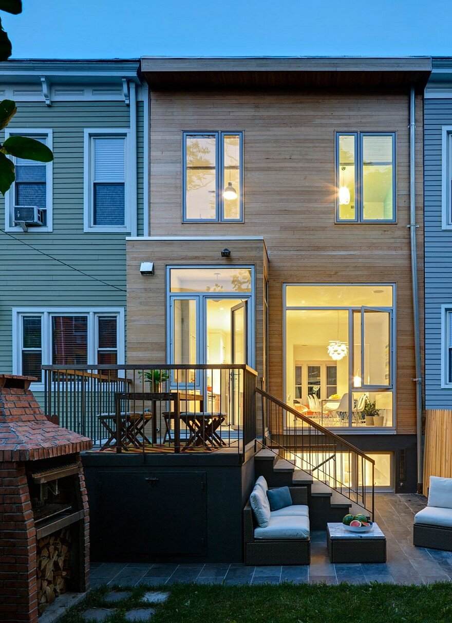A Williamsburg Row House Gets a Modern Update 7 - Download Design Of Small Farmhouse  Images