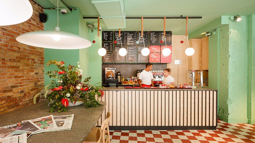 Abat Café by Lagranja Design: a Contemporary, Modern, Fresh yet ...