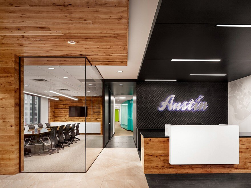 Austin Visitors Center Office By Runa Workshop