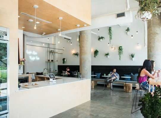 Commercial Interior Finish-Out in Austin / Juice Society by MF Architecture