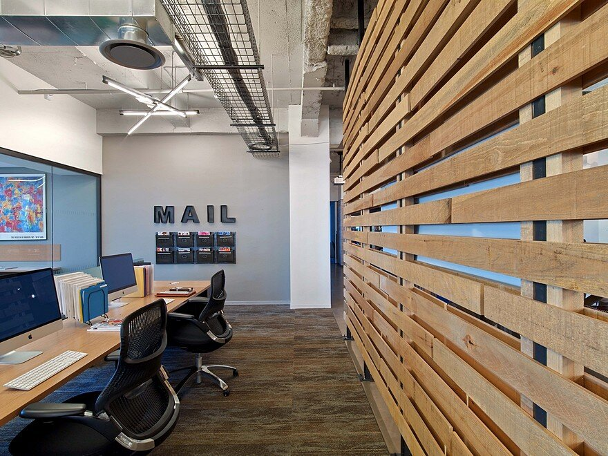 First Office Space for Condé Nast Entertainment Features a Rustic and Industrial Aesthetic