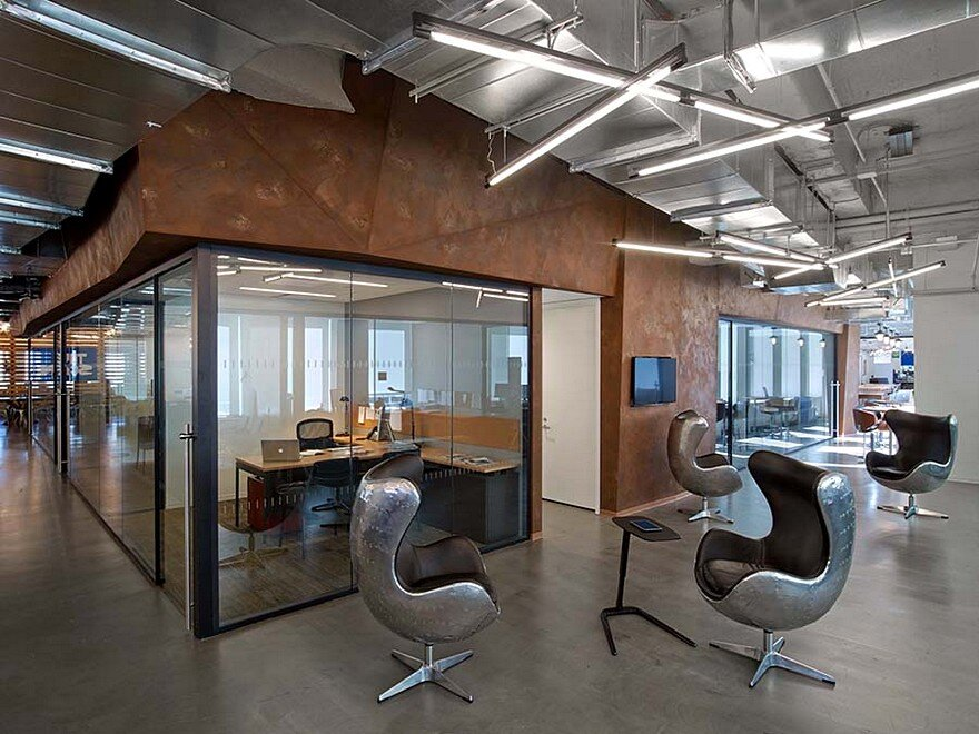 First Office Space For Conde Nast Entertainment Features A Rustic And Industrial Aesthetic 4