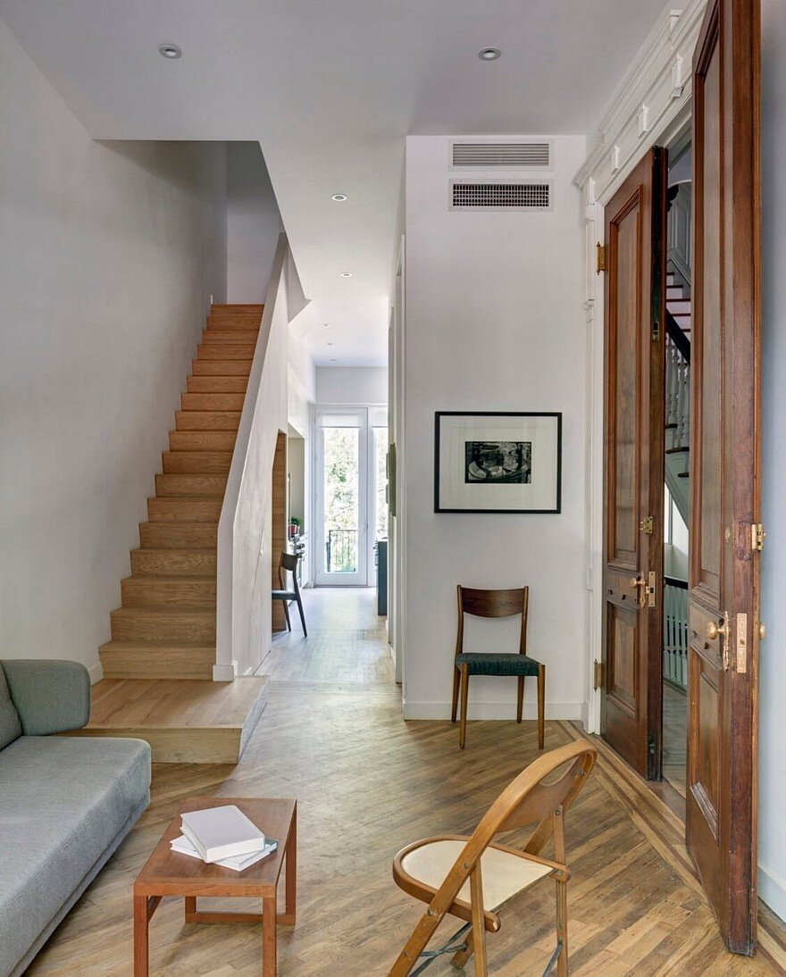 Brownstone Interior Design: Fort Greene Brownstone House Divided Into Three Duplexes