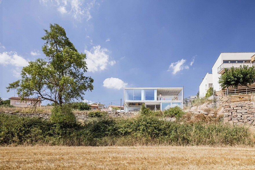 Low Budget House Collected In A Single Structural Gesture