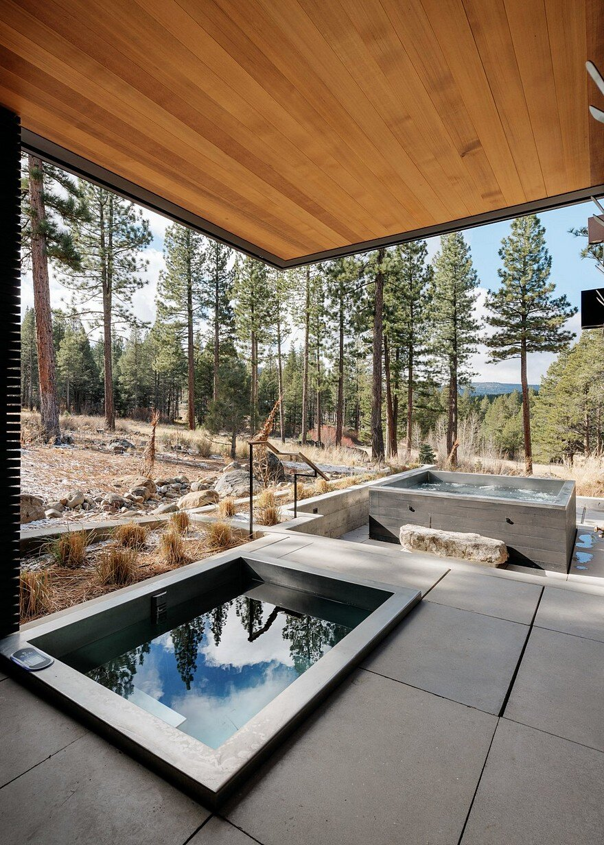 Martis Camp House Provides Privacy And Celebrates