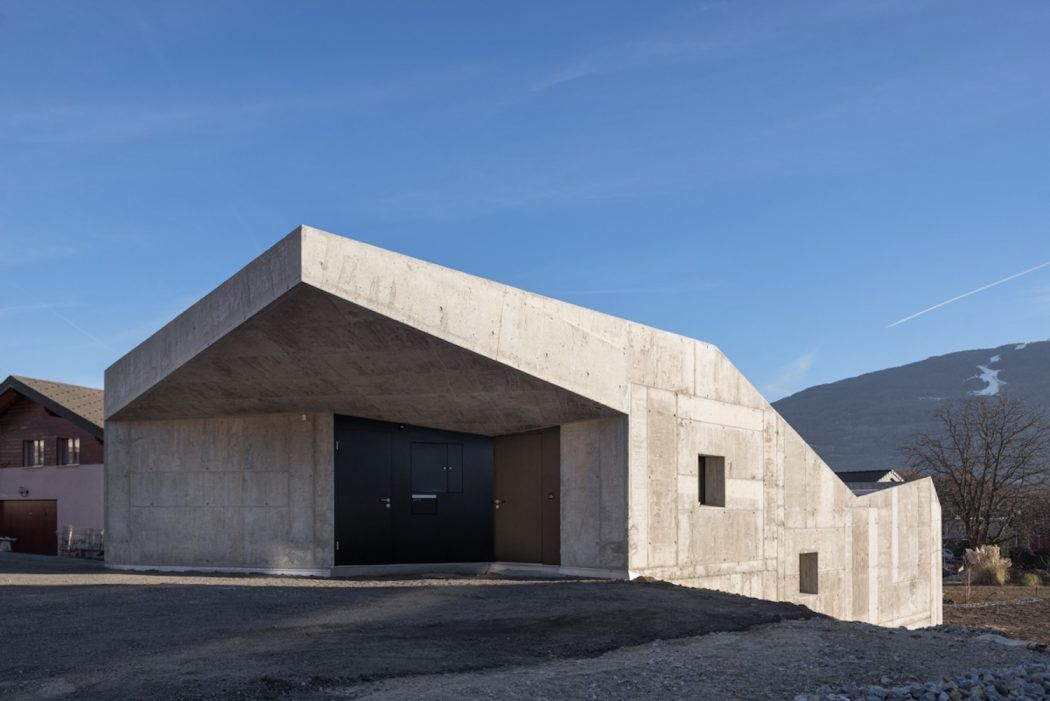 Massive Concrete Family House With Generous Inner