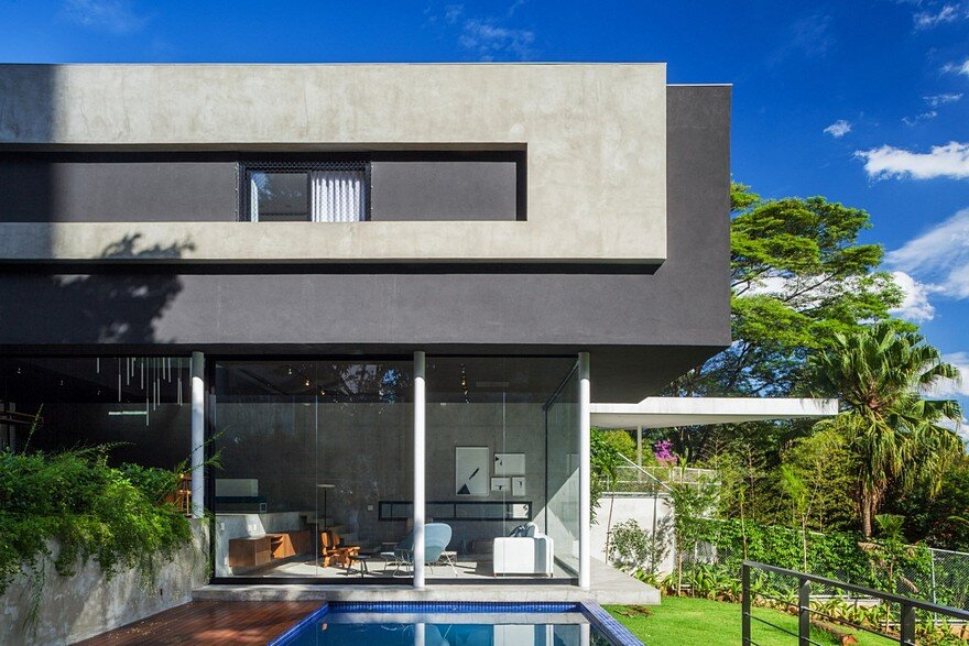 This s o paulo house has a mixed structural design that for Structural design of a house