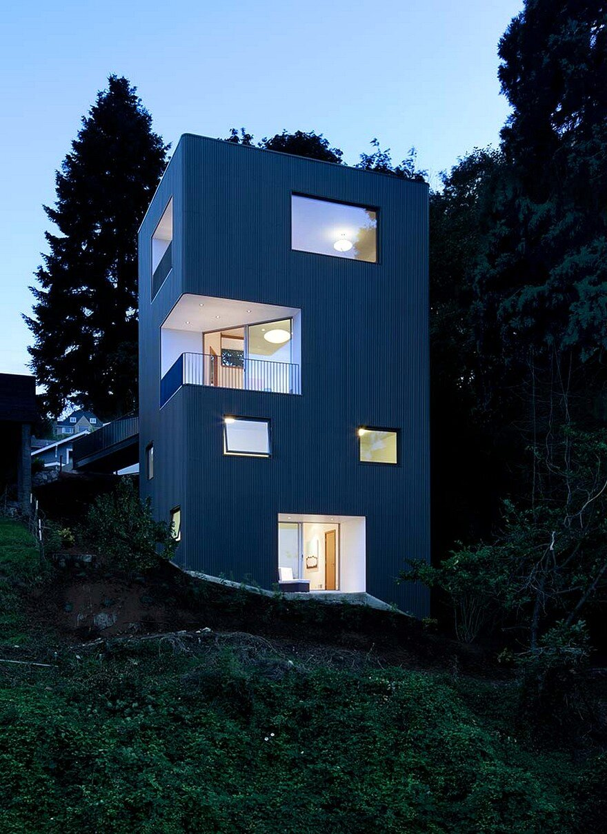 Modern House Exterior 2 Story